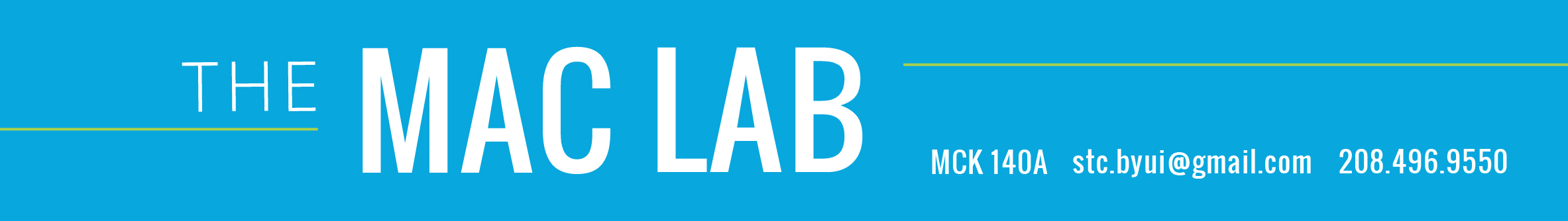 Mac Lab header