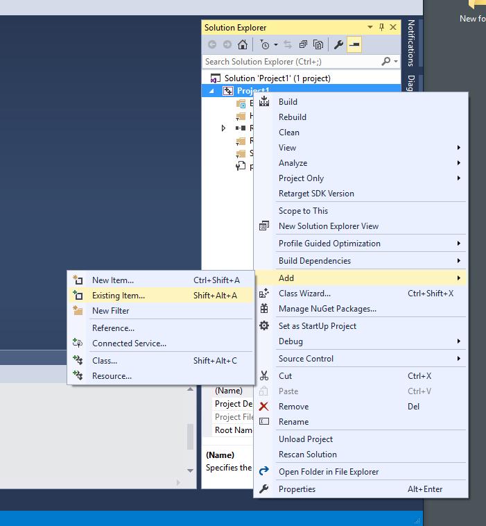CS 165 - OpenGL with Visual Studio