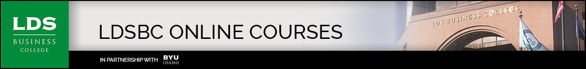 LDSBC Online Course Banner
