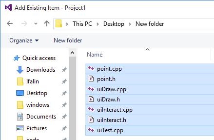 how to add appdata folder in visual studio