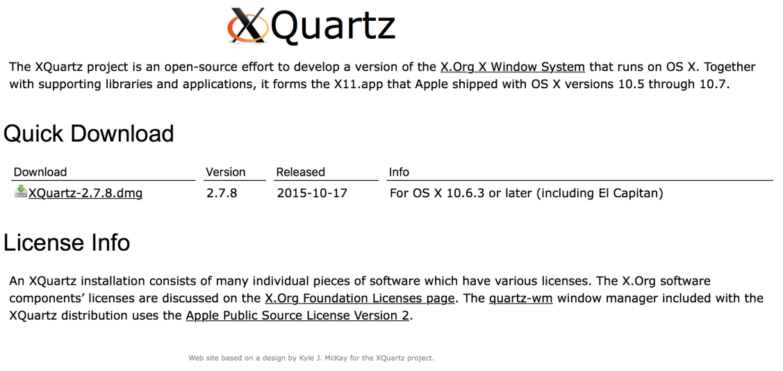 Download xquartz